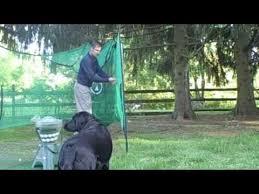 Backyard Golf Nets Great Backyard Golf Practice Net The Rotanet Youtube