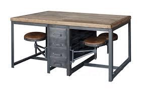 bureau type industriel meubles deco indus table a manger industrielle bureau style industriel