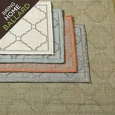 Ballard Outdoor Rugs Merida Indoor Outdoor Rug Ballard Designs