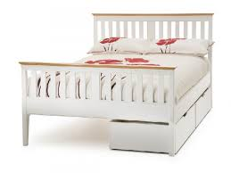 white metal double bed frame argos bedding sets