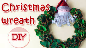christmas decorations christmas wreath ana diy crafts youtube