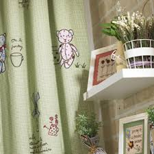 Green Kids Curtains Astonishing Ideas For Kids Curtains