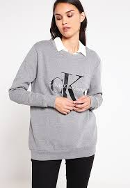 discounted sweatshirt grey by calvin klein jeans for sale