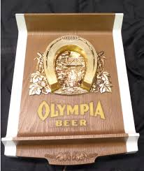 vintage olympia lucky beer light for sale vintage olympia horse