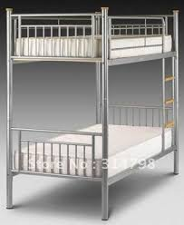 Steel Bunk Bed Made Of KD Tube Good Quality Double Deck Metal Bed - Good quality bunk beds