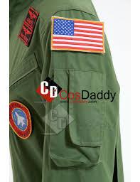 top gun jumpsuit top gun maverick pete mitchell flight suit mens jumpsuit costume