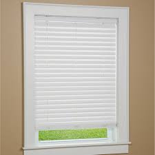 Home Decorators Collection 2 Inch Faux Wood Blinds Cordless Faux Window Blinds With Cloth Tape Http Www Menards Com