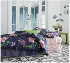 Dark Blue Duvet Dark Blue Floral Duvet Covers U0026 Bedding Schlossberg Alva Bleu
