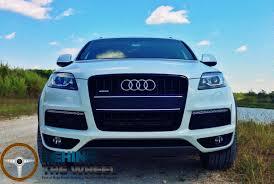 Audi Q7 Diesel - audi behind the wheel