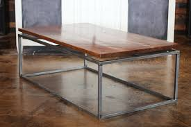 floating table floating top steel base coffee table furniture