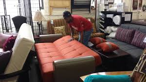 Click Clack Bed Settee How To Open A Click Clack Sofa Bed Youtube