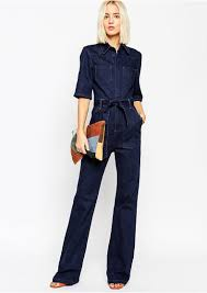 sleeve denim jumpsuit manufacturer custom sleeve denim jumpsuit fashion