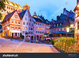 scenic summer night view old town stock photo 226332760 shutterstock