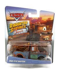 cars characters mater dan the pixar fan cars one eye mater