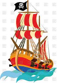 pirate ship vector clipart image 94583 u2013 rfclipart