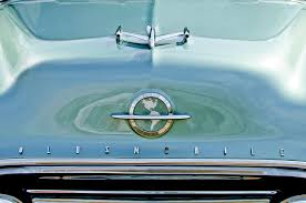 1954 oldsmobile 88 ornament 3 photograph by reger