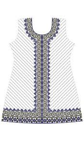 style dress embroidery design 12431