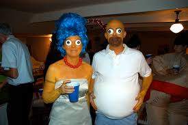 Marge Halloween Costume Costumes Marge Homer Simpson Couples U0027 Costumes Photo
