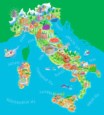 Maps Around The World by Big Size Detailed Italy Map And Flag U2013 Travel Around The World
