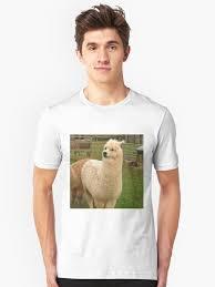 Alpaca Sheep Meme - doge meme alpaca classic t shirt by memesense redbubble