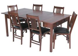 Folding Dining Table With Chair Storage Furniture Dark Brown Wooden Folding Dining Table With Drop Leaf