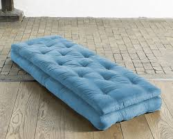 fresh futon buckle up u2013 a mattress that rolls up into a comfy chair