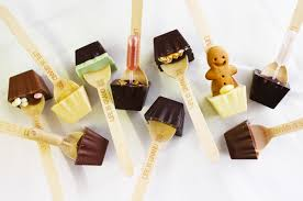 Chocolate Dipped Spoons Wholesale Sweet White Christmas Chocolate Spoon The Treat Kitchen