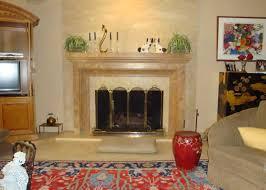 Travertine Fireplace Tile by Noce Ii Travertine Fireplace Millestone Marble U0026 Tile