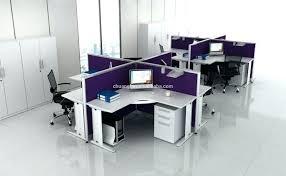 Glass Office Desks Frosted Glass Office Desk Dividers Modern Partition Desks