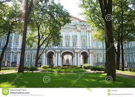 inner garden of winter palace saint petersburg editorial image