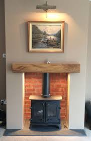 fireplace trends brick fireplace with stove decoration idea luxury fancy at brick