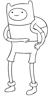 adventure finn human coloring pages coloring sky