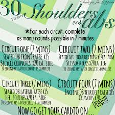 fit happens 30 minute shoulders and abs