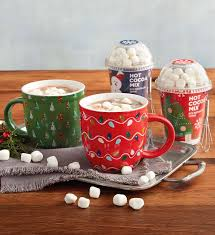 hot chocolate gift set hot chocolate gift set with mugs gourmet hot chocolate gifts