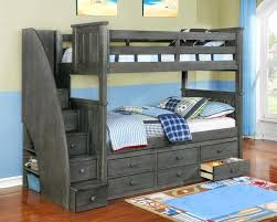 Bunk Bed With Storage Stairs Bunk Bed Storage Stairs Only With Factory Beds Home Decoration