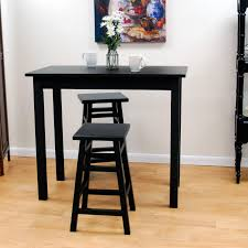 black high table and chairs 53 bar stools and tables sets coaster fine furniture 120341 120355