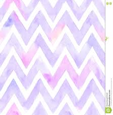 watercolor chevron of purple color with white background seamless