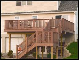 Deck With Patio by Mark Pflug General Contracting Decks