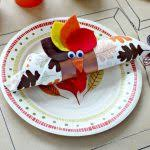 turkey napkin ring thanksgiving turkey napkin ring