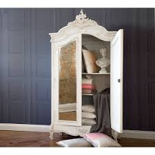 provencal 2 door mirrored french armoire armoire
