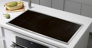 Hybrid Gas Induction Cooktop 36 U0027 U0027 Induction Cooktop Ew36ic60ls Electrolux Appliances