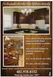 Kitchen Cabinets Omaha Carlberg Cabinet Refacing U003e Home