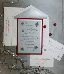 Snowflake Wedding Invitations Modern Snowflakes Wedding Invitations Snowflakes Wedding