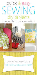 easy diy projects for home quick and easy sewing diy projects home decor accessories the