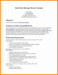 Retail Store Manager Resume Example 9 Resumes Examples For Retail Forklift Resume