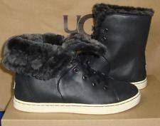 size 12 womens ankle boots australia womens ugg australia toscana black leather sneakers size 12
