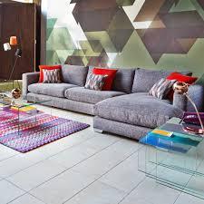 Corner Sofa Living Room Fontella Small Left Hand Facing Chaise Corner Sofas Living Room