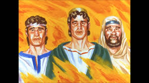 the fiery furnace story of daniel u0027s three friends told for