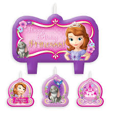 sofia the candle sofia the birthday candle set shopdisney