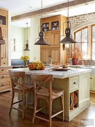 Country Kitchens With Islands Best 25 Green Country Kitchen Ideas On Pinterest Country